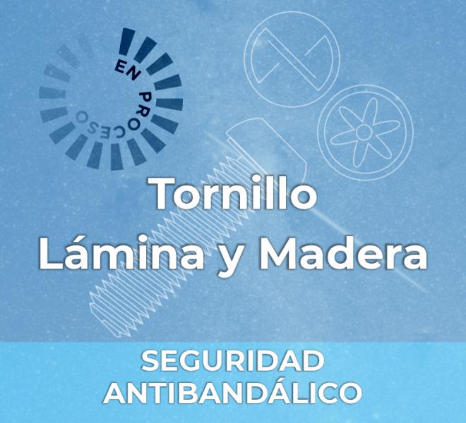 iGalga Tornillo lamina y madera seguridad 2